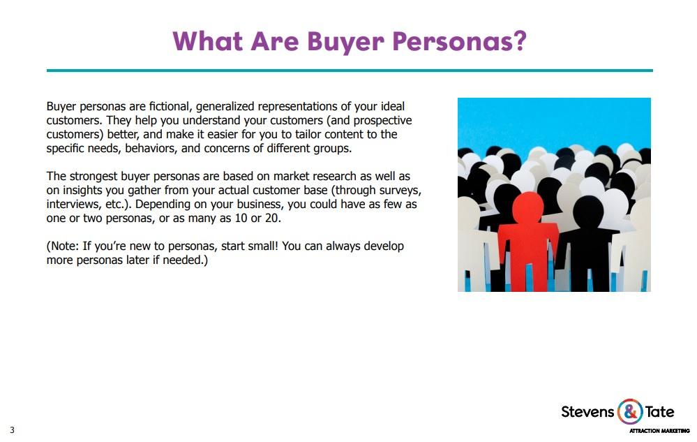 buyer persona excerpt