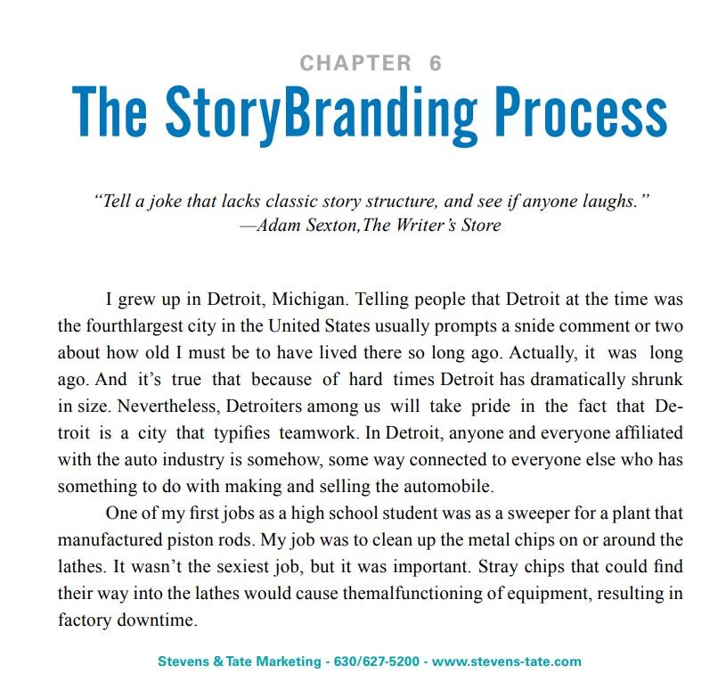 storybranding excerpt